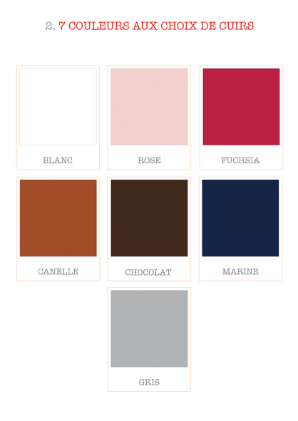 Bijoux cuir - Lezat Isis Sirrah