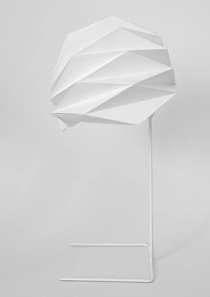 Lampe papier - Pliage personnalisé