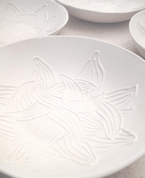 coupelle-porcelaine-motif-végetal